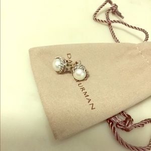 David Yurman Chatelaine Earrings with Pearls